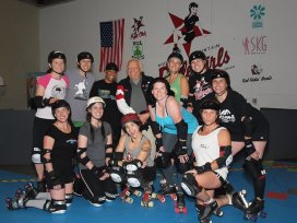 Rocky Mountain Roller Girls- Fight Club