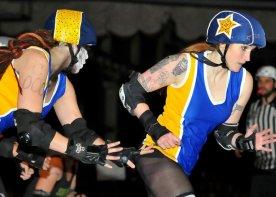 San Francisco ShEvil Dead vs. Richmond Wrecking Belles. Photography by D.E.sign